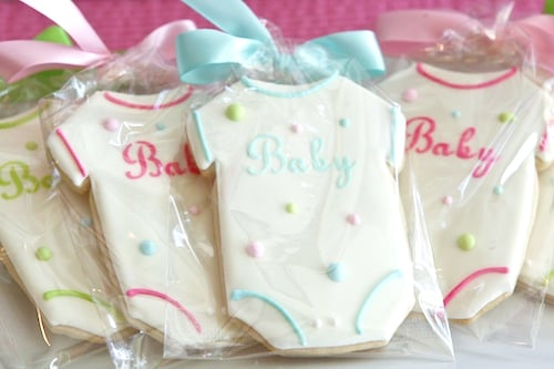 Ready to Pop Baby Shower Cookies - PinkDucky.com