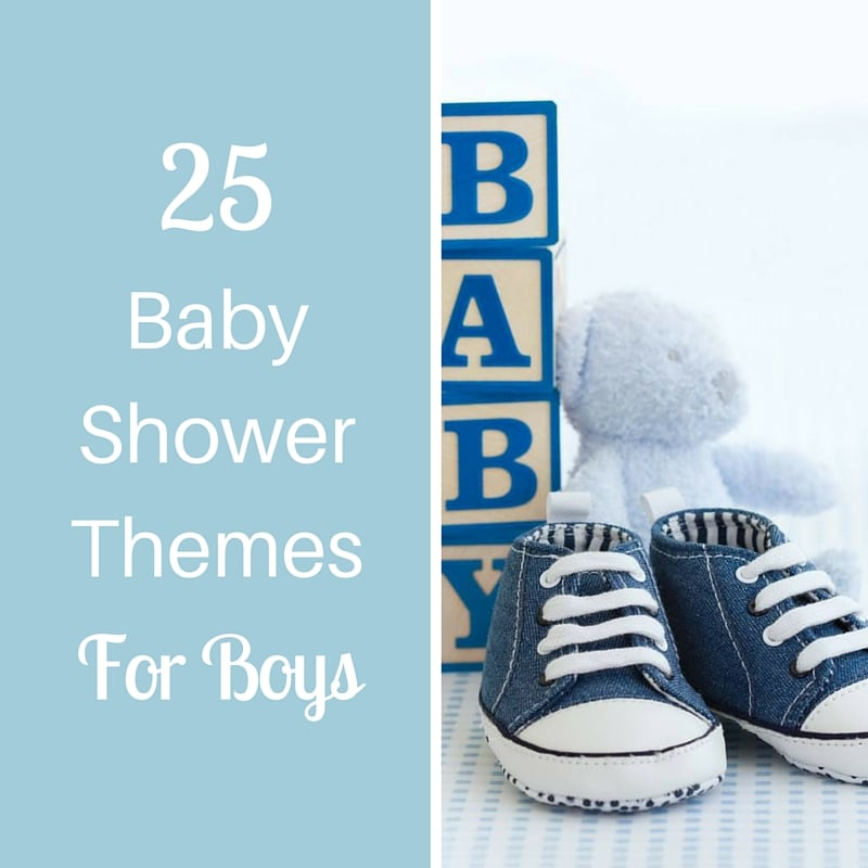25 baby shower themes for boys