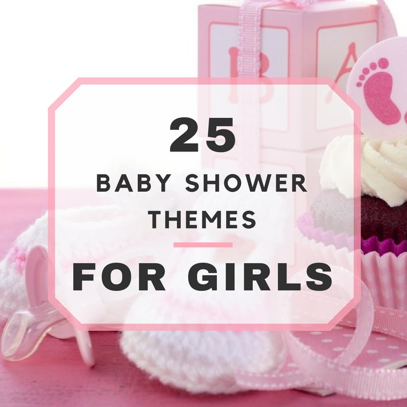25 baby shower themes for girls for Baby girl baby shower decoration ideas
