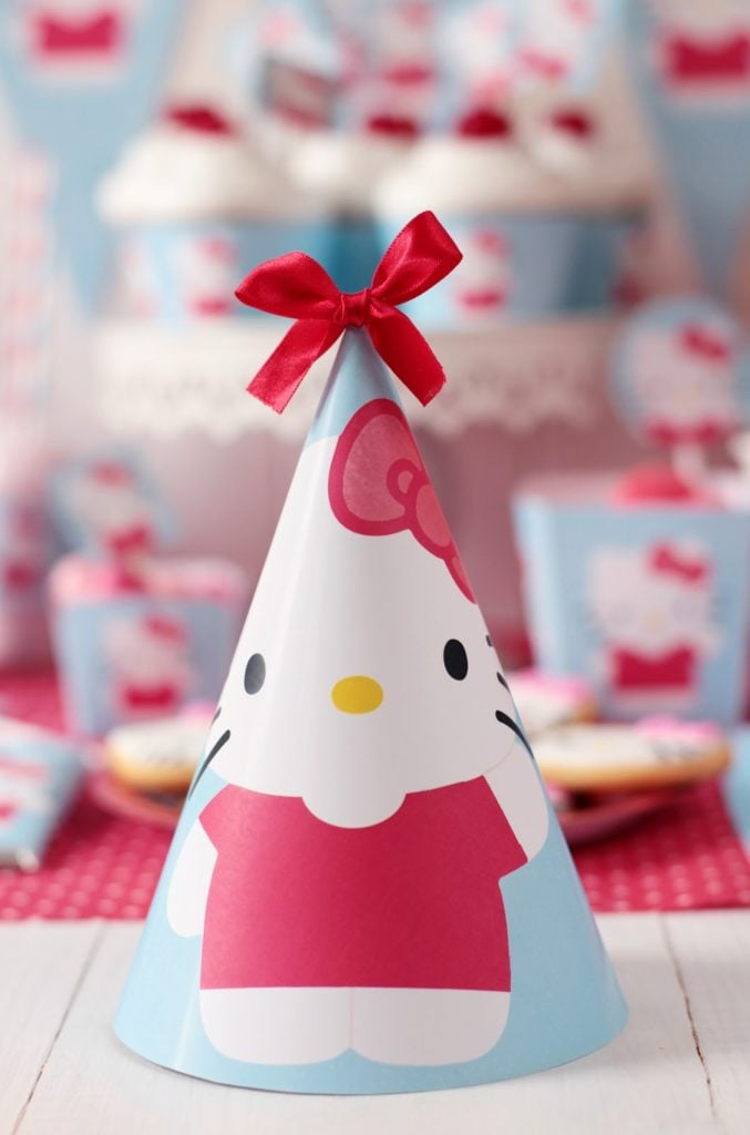 Hello Kitty Baby Shower Party Hats - PinkDucky.com