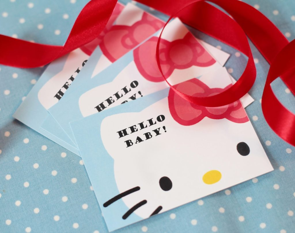 hello kitty baby shower ideas