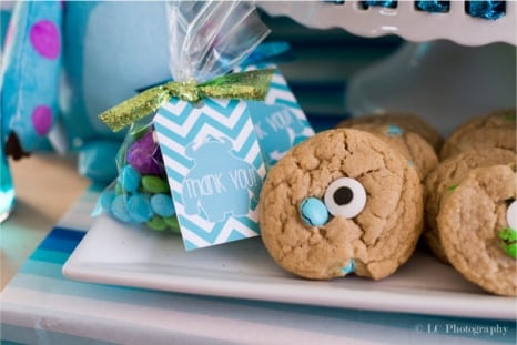 Monsters Inc. Baby Shower Food Ideas - PinkDucky.com
