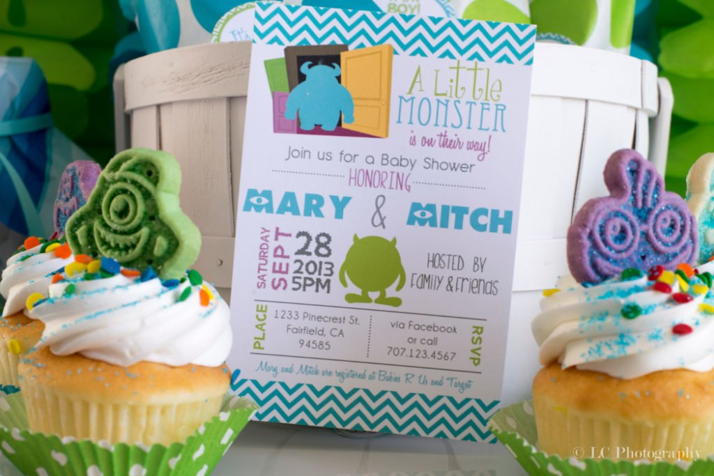 Monsters Inc. Baby Shower Invitations - PinkDucky.com