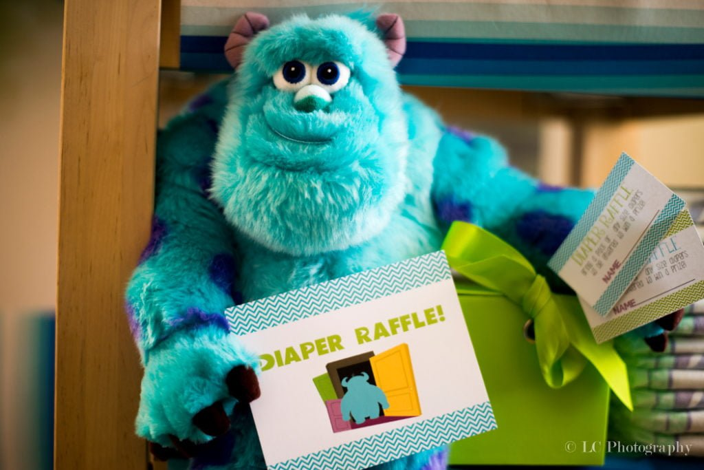 Monsters Inc. Baby Shower Games- PinkDucky.com