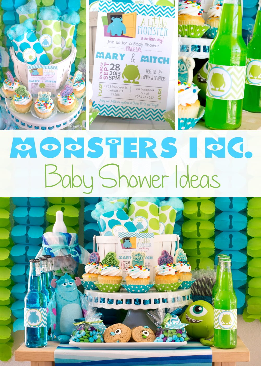 baby monster inc baby shower monsters inc baby shower ideas