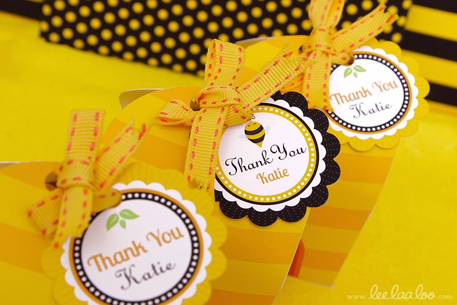 Bumble Bee Baby Shower Favors - PinkDucky.com