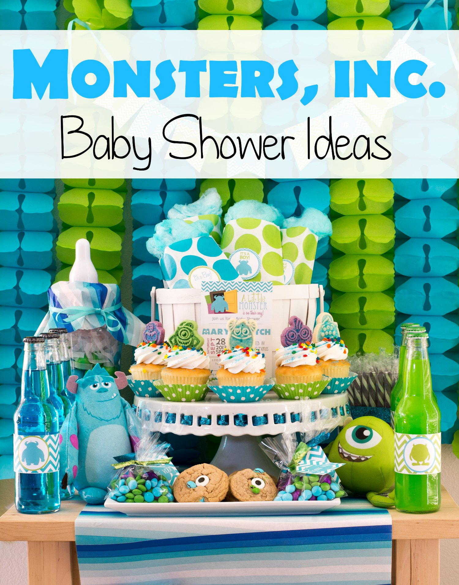 monsters inc baby shower ideas