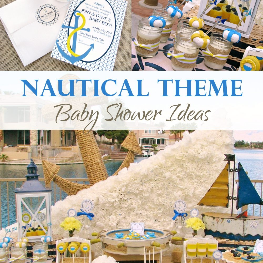 Nautical Theme Baby Shower Ideas