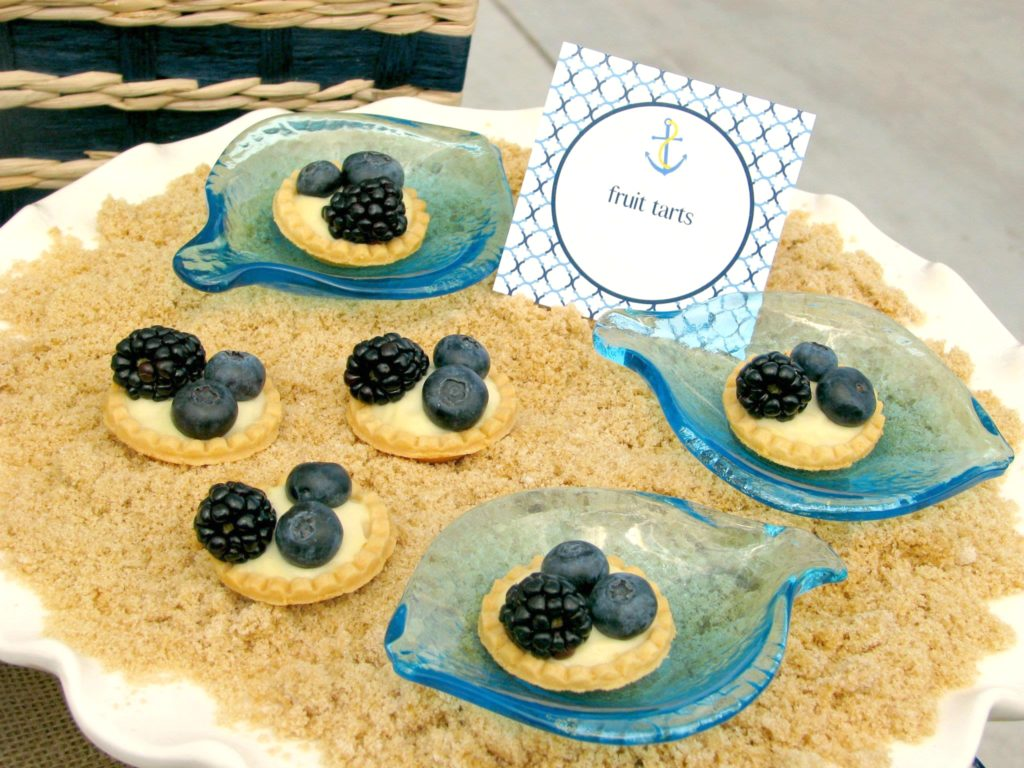 Nautical Themed Baby Shower Food Ideas   PinkDucky.com