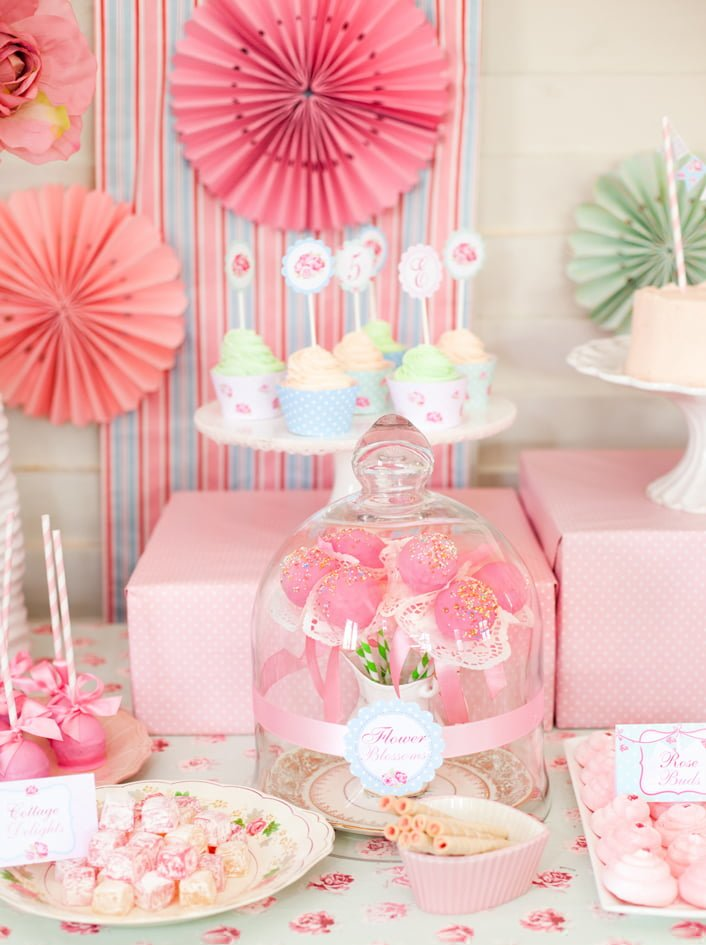Princess Baby Shower Decoration Ideas - PinkDucky.com