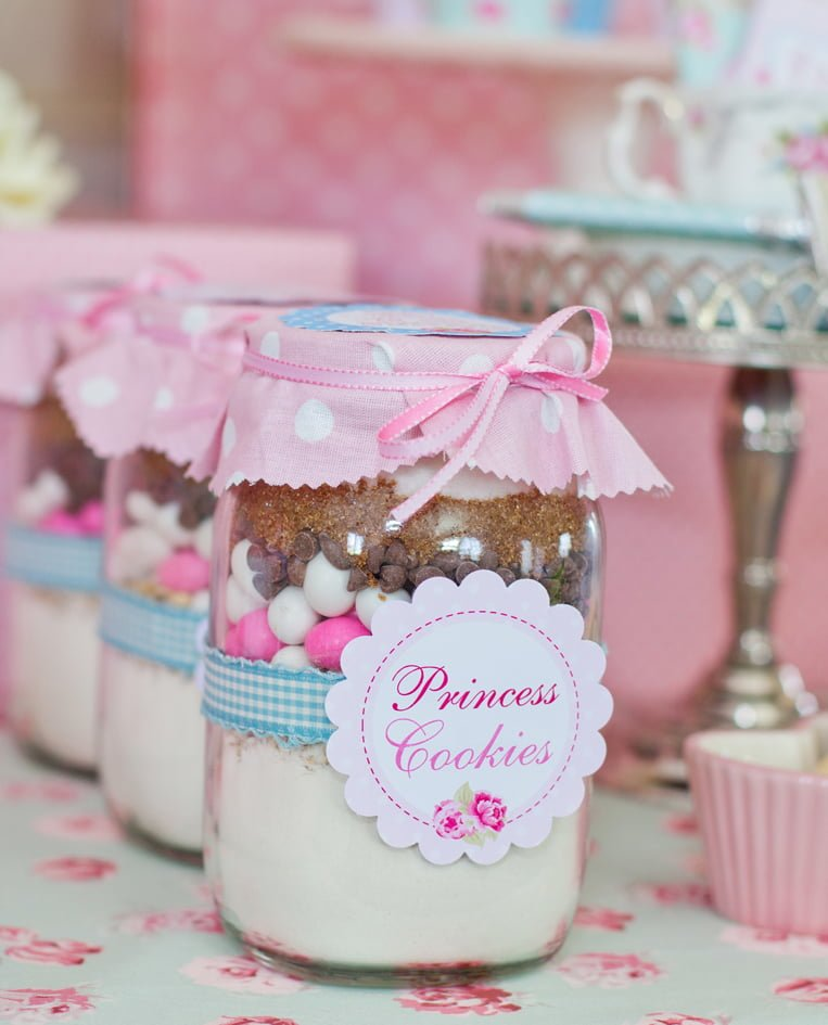 Princess Baby Shower Cookie Jars - PinkDucky.com