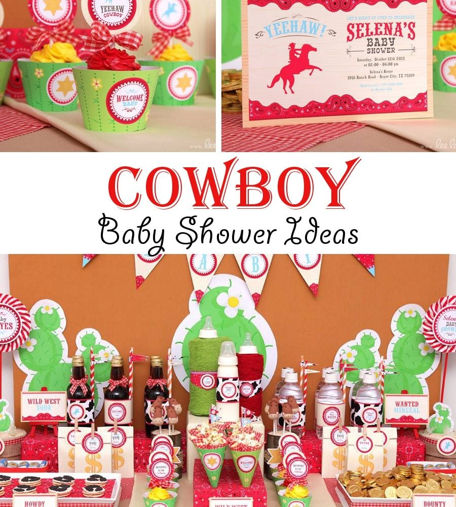 Cowboy Baby Shower Ideas