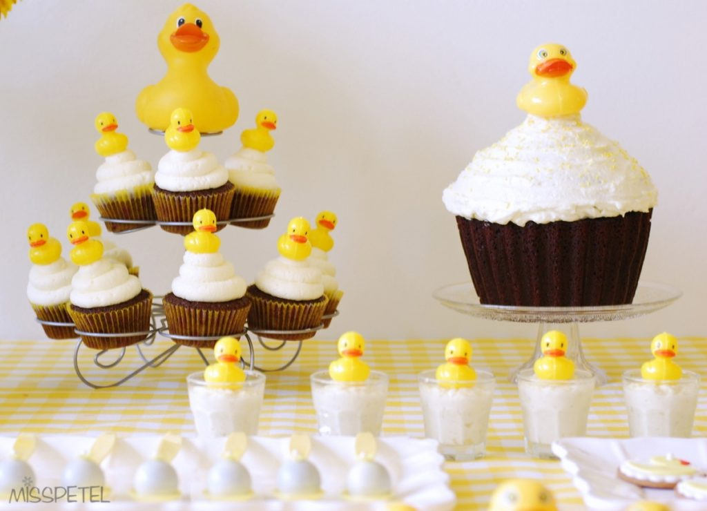 Rubber Ducky Cakes and Cupcakes - PinkDucky.com
