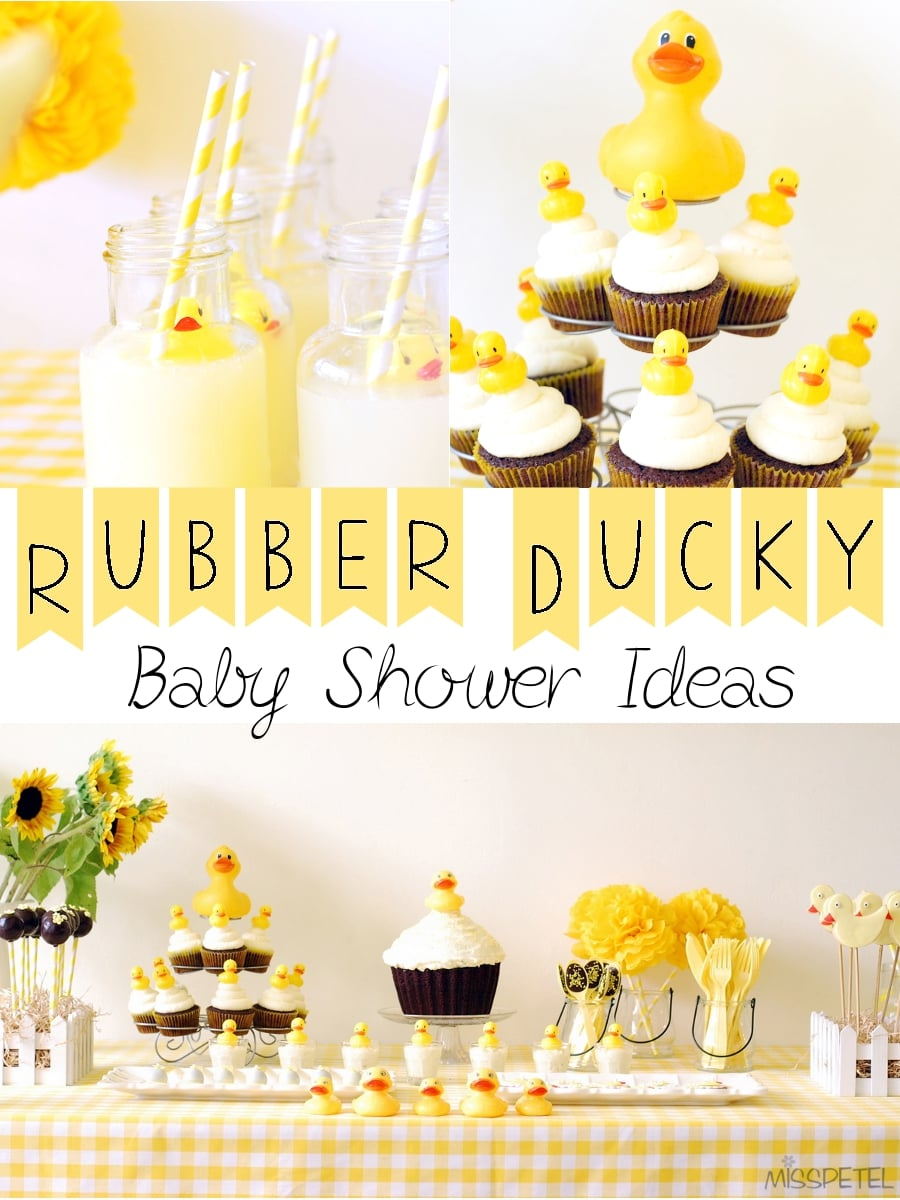 rubber ducky baby shower ideas. Black Bedroom Furniture Sets. Home Design Ideas