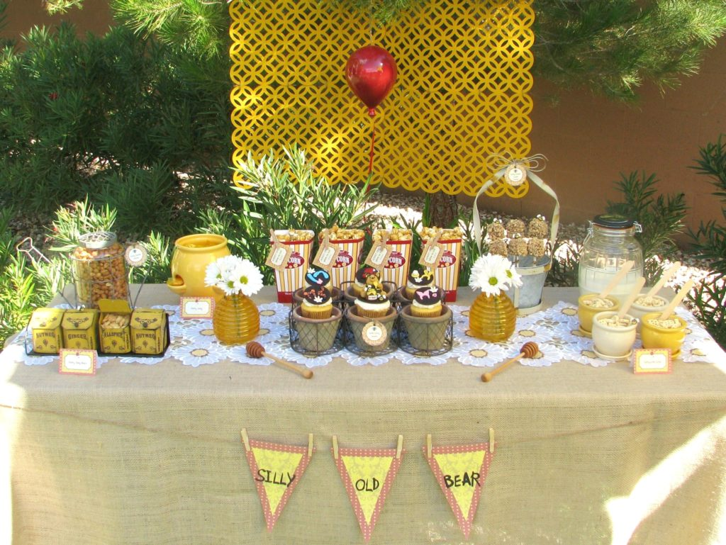 Winnie the Pooh Baby Shower Table Decorations - PinkDucky