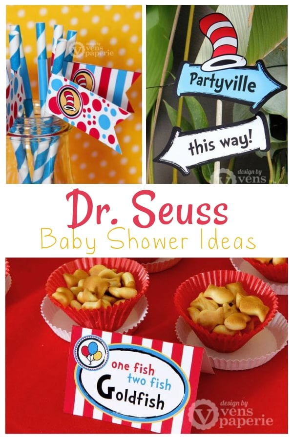 Dr. Seuss Baby Shower Ideas