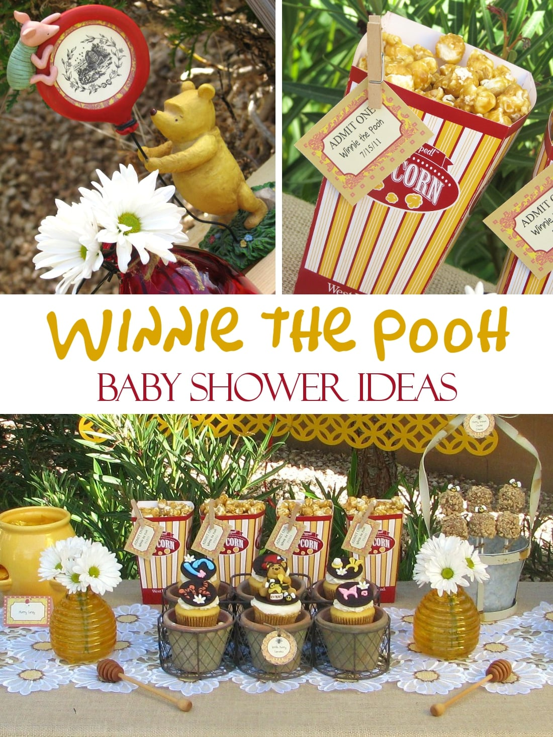 winnie the pooh baby shower ideas games food favors decorations
