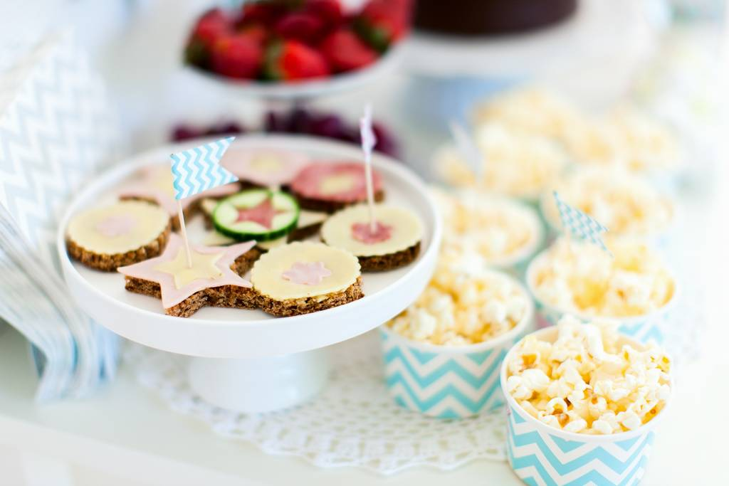 Cute baby shower finger food images - Kids party food table ideas ...