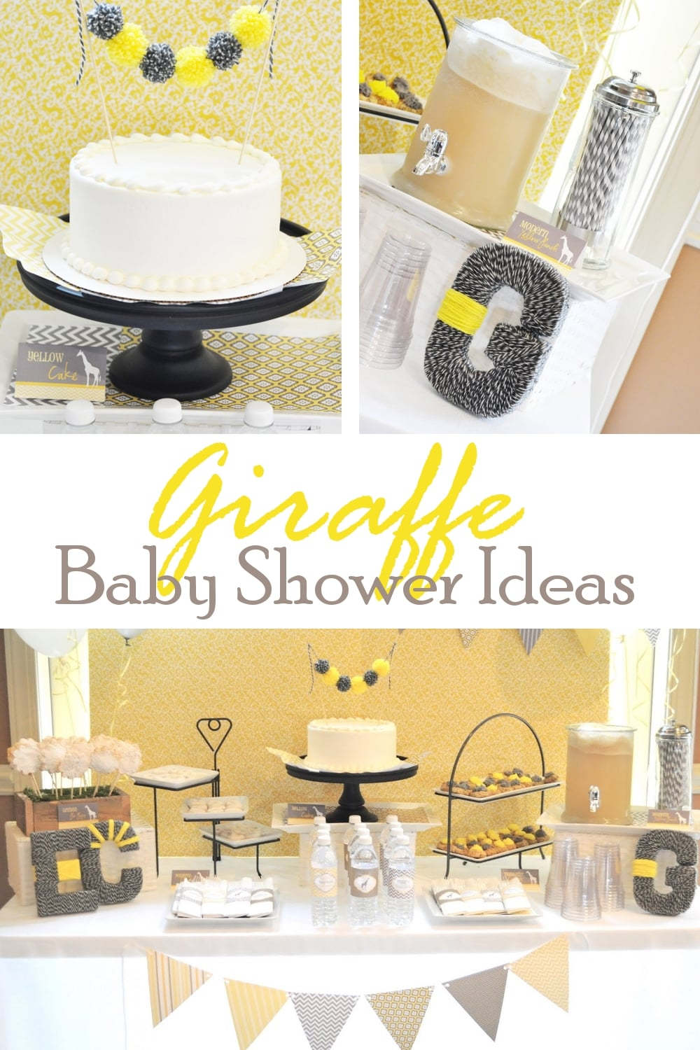 giraffe baby shower ideas, Baby shower