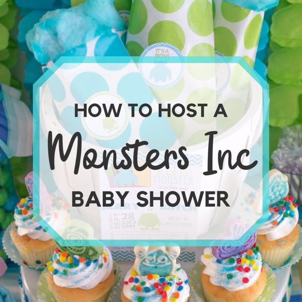 Scary Fun Monsters Inc. Baby Shower Ideas